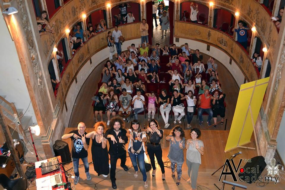 Audizioni della The Vocal Academy al teatro comunale Garibaldi di Mazara del Vallo