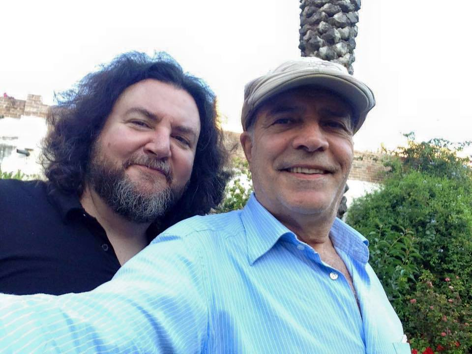 Riccardo Russo ed Enrico Montesano